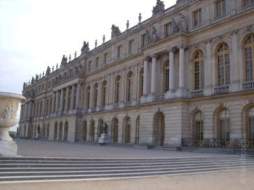 Außenansicht des Château de Versailles